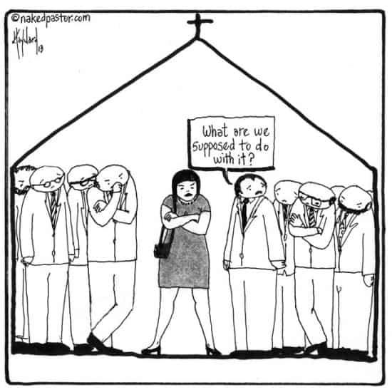 women-in-church
