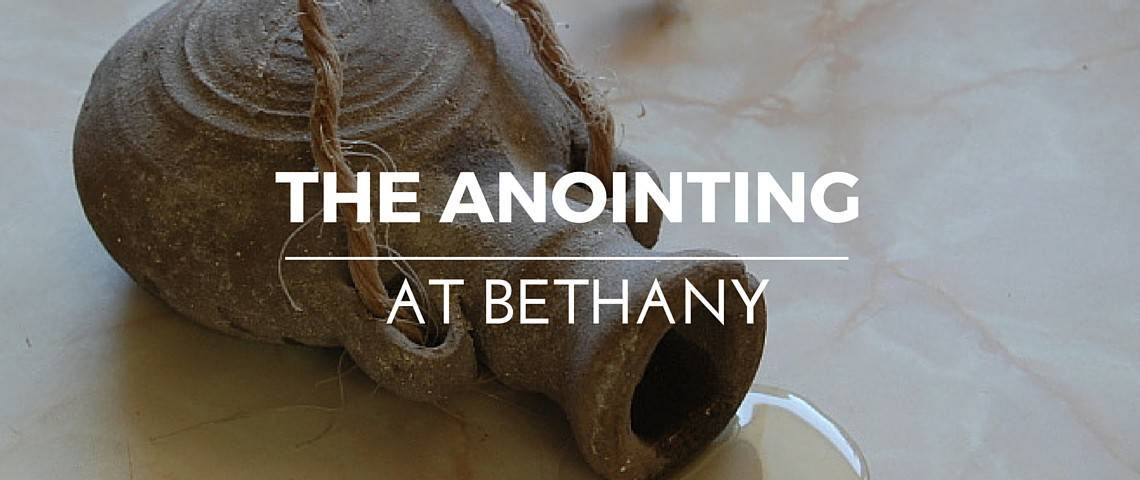 Anointing at Bethany