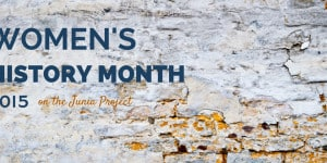 Women's History Month 2015