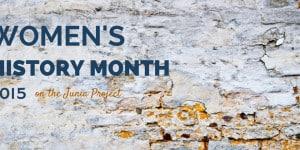 Women's History Month 2015