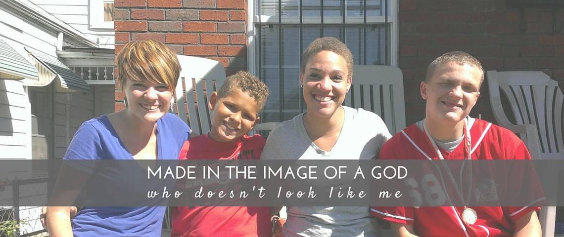 God doesn't look like me