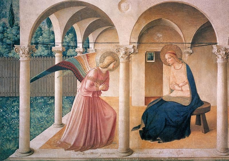 Mary annunciation-fra-angelico-convent-of-san-marco-florence-copy