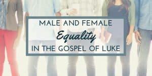 Male-Female: Equality in the Gospel of Luke