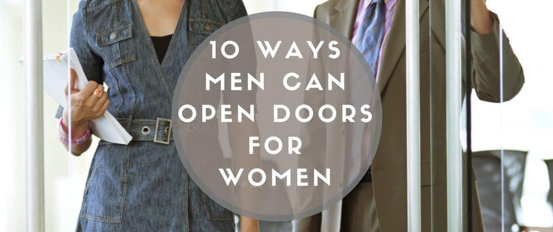 2 open doors
