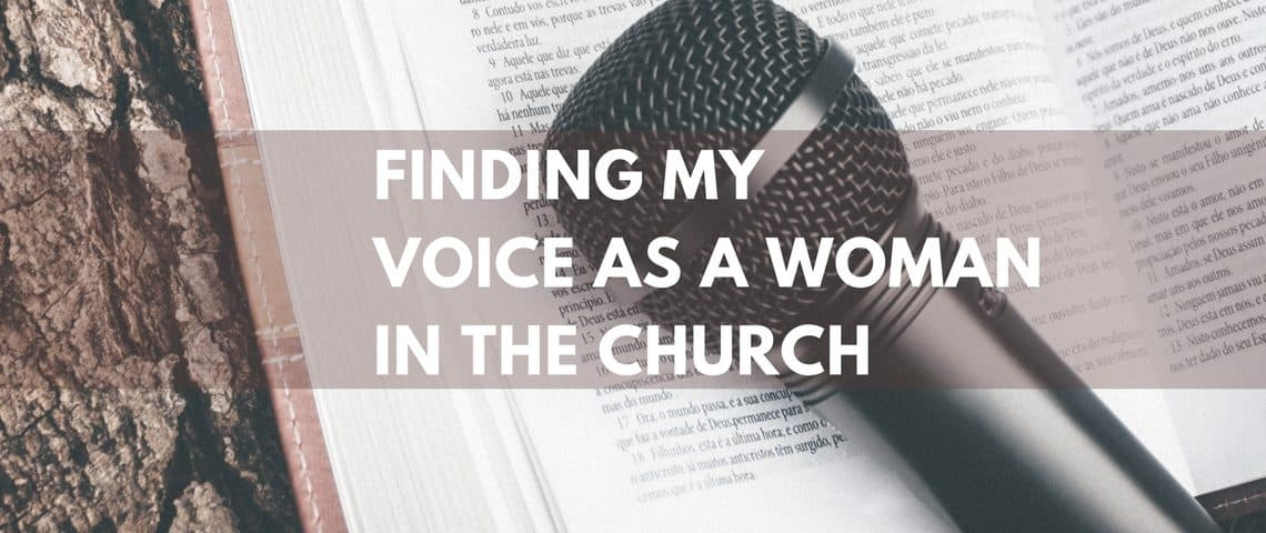 FINDING MY VOICE AS A
