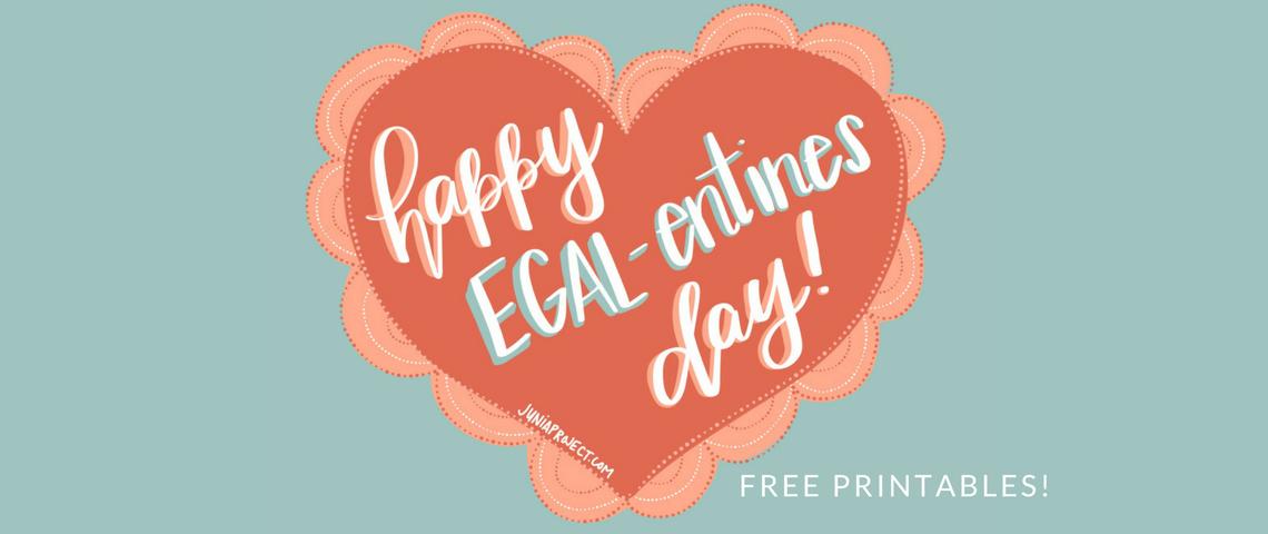 Free Printable Egalitarian Valentines! (1)